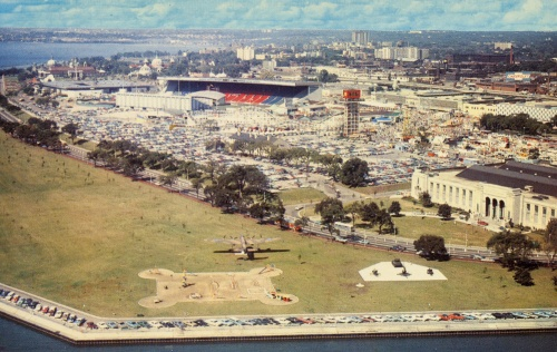 Canadian National Exhibition postcard 1