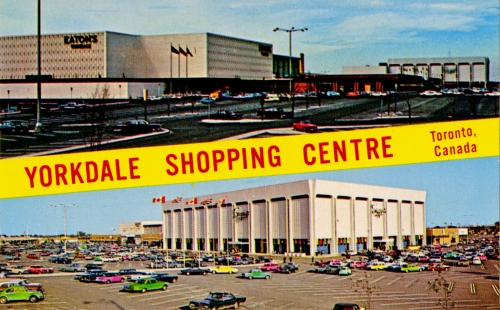Yorkdale aerial + interior
