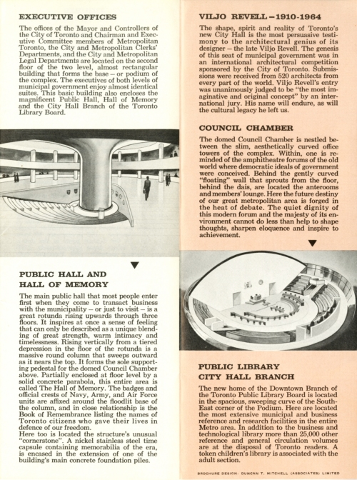 Toronto City Hall brochure 4