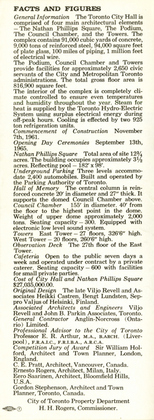 Toronto City Hall brochure 5
