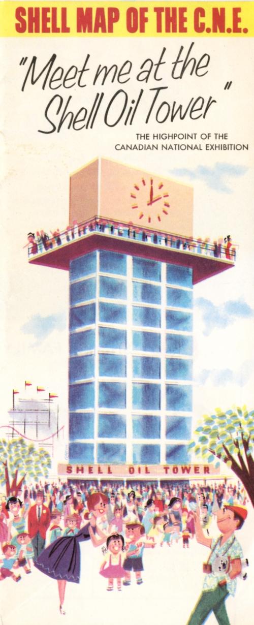 Shell Oil Tower brochure 1